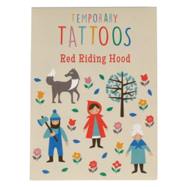 Tattoo set Little Red Riding Hood