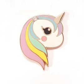 Pin Eenhoorn pastel regenboog - Studio Inktvis