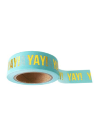 Washi Tape Mint  Yay!