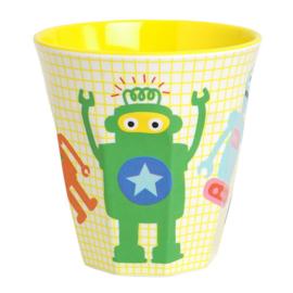 Funky Robots  Drinkbeker