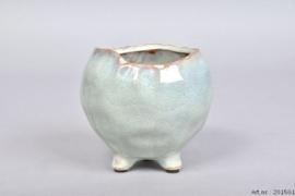 Savar light green pot