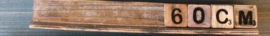 Letterplank 60 cm