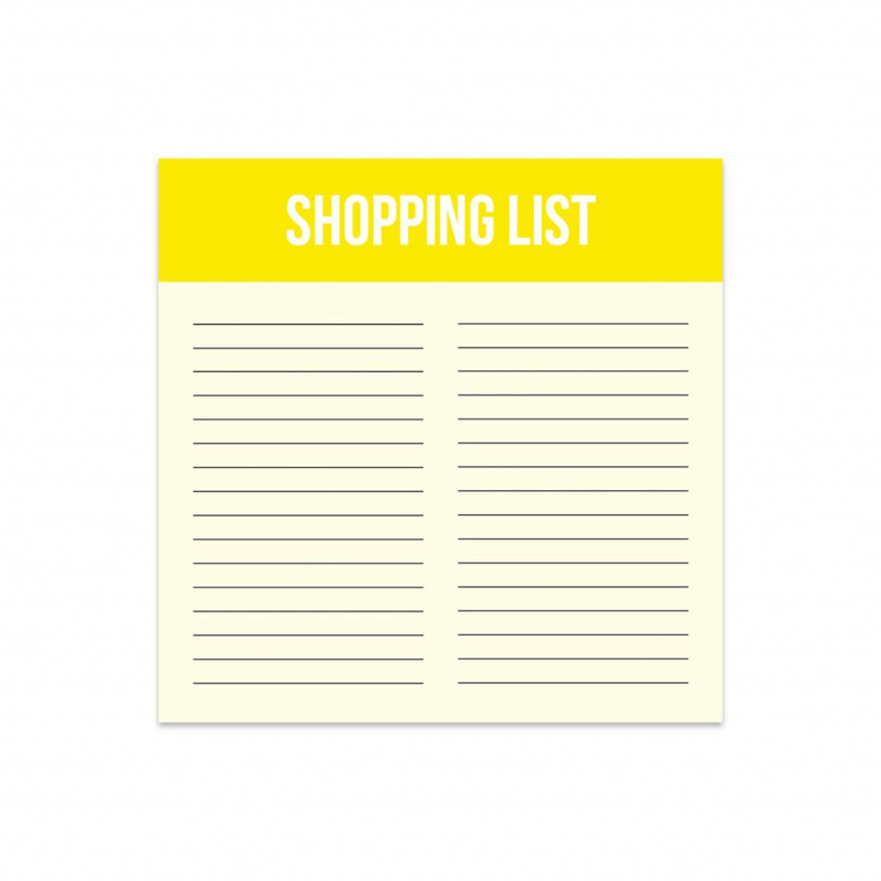 Mini shopping list