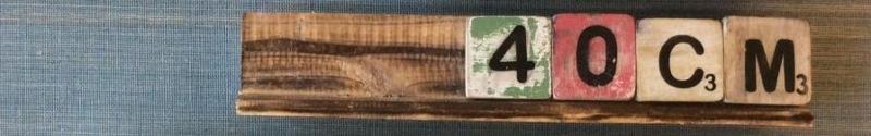 Letterplank 40 cm