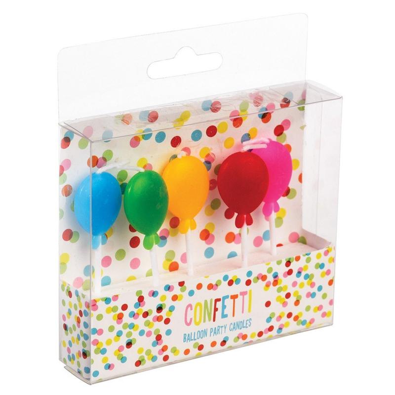 Verjaardagskaarsjes Ballon