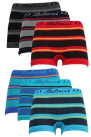 jongensboxershorts Belucci 6pack