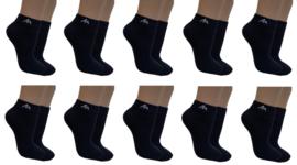 10 paar zwarte  i1R biker sokken