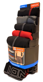 And1 Sport Boxershorts Extra Lang 5 Pack