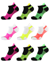Xtreme sportsokken assorti kleuren 9 paar