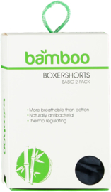 Bamboo herenboxershorts 4 pack multi color