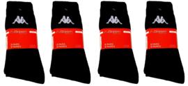 Kappa sport sokken mega multipack 12 paar zwart