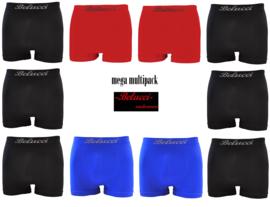 herenboxershorts Mega Multipack van Belucci 10-pack