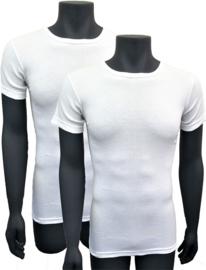 Naft extra lange t shirts 2pack wit