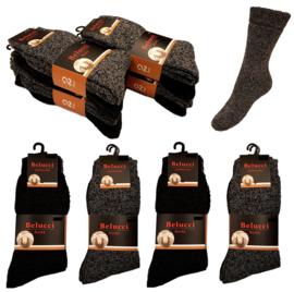 Noorse warme sokken met wol 8 paar