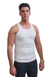 katoenen halter hemd multipack 4 stuks wit