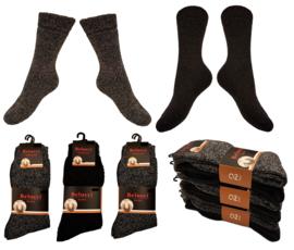 Noorse warme sokken met wol 6 paar