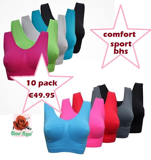 Comfort BH Sport BH Sweet Angel (mega multipack)
