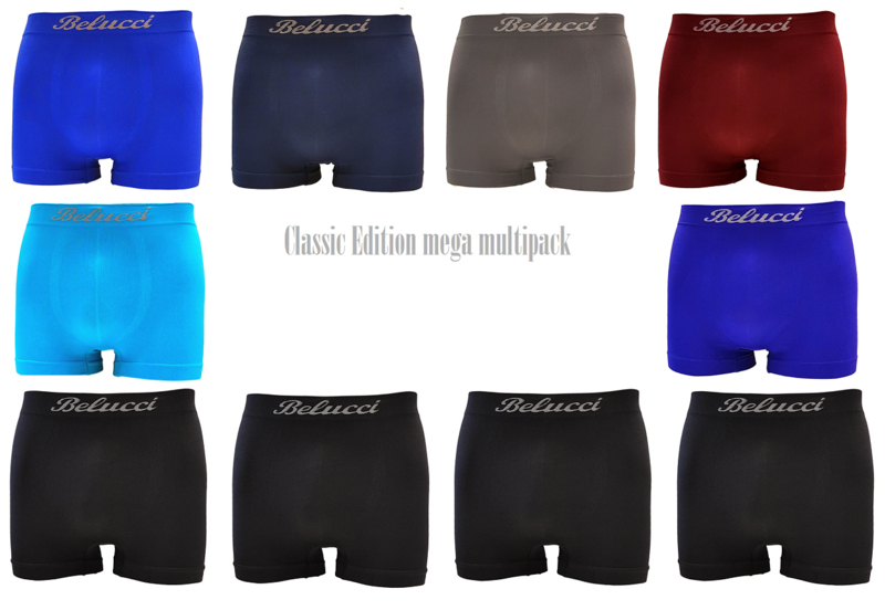 regular herenboxershorts Mega Multipack van Belucci 10-pack