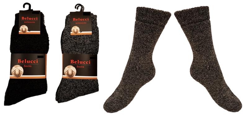 Noorse warme sokken met wol 4 paar