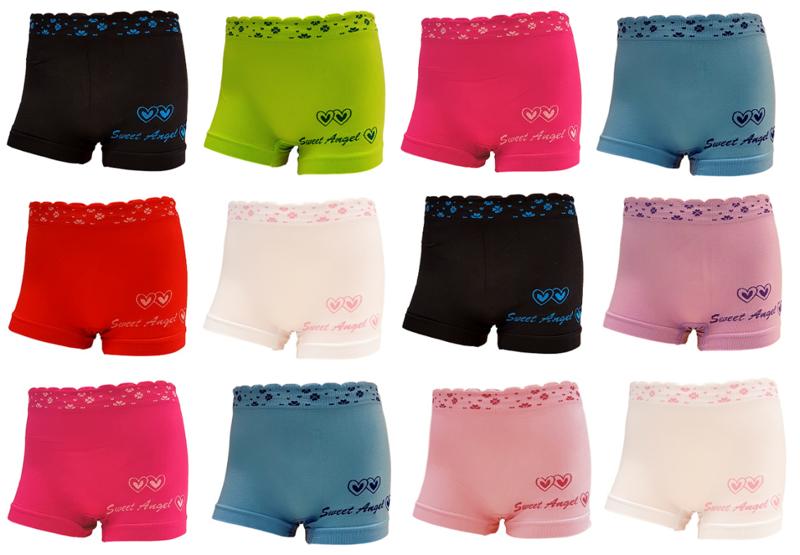 leuke meisjes boxers multipack 12 stuks