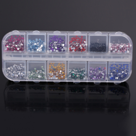 Nail Art Rhinestones Box