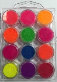 Korneliya Pigment Box 7 Neon kleuren