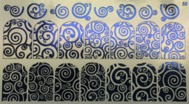 Korneliya Foil Wrap 58 Blauw