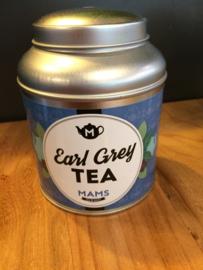 MAMS Blik Earl Grey (+ 50gr thee)