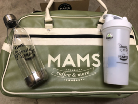 (P12 sport) MAMS Sporttas + Waterfles + Blender Bottle Shaker