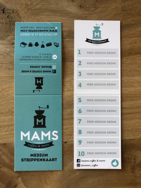MAMS Medium Strippenkaart