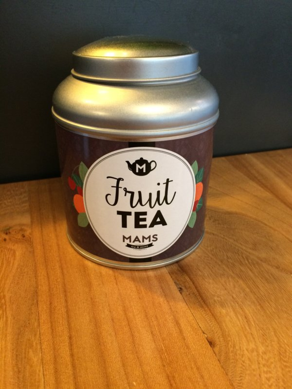 MAMS Blik Fruit Tea Blik (+ 50gr thee)