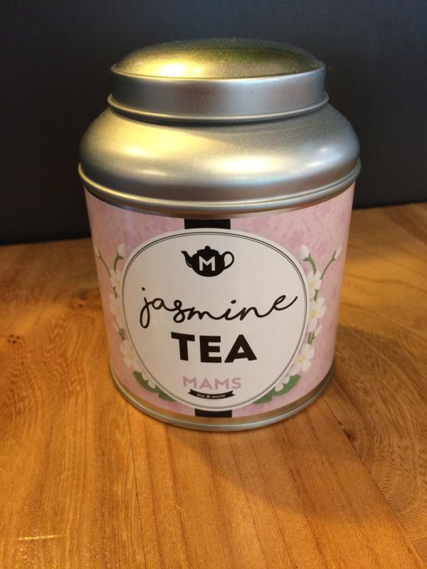 MAMS Blik Jasmine Tea (+ 50gr thee)