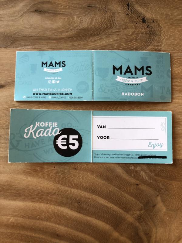 Cadeaubon MAMS € 5,-