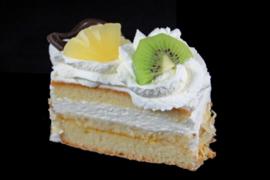 Slagroom cake gebak