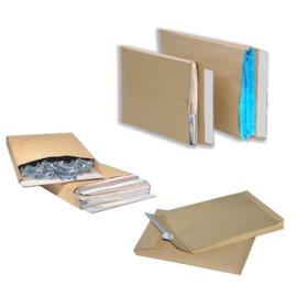 25 x pochettes d'expédition en kraft brun