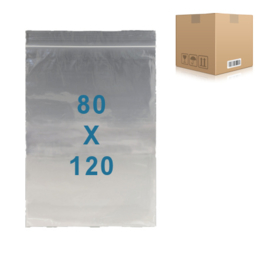 1000 x sachets zip           80 x 120 mm