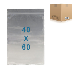 1000 x sachets zip         40 x 60 mm