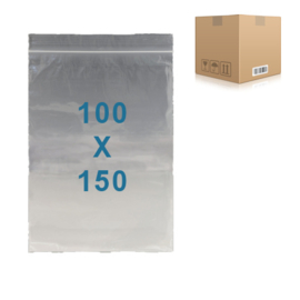 1000 x sachets zip           100 x 150 mm
