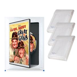 10 packs van elk 5 x bubble omslagen voor DVD         ( 180 x 265 mm)