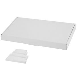 3 x 100 boîtes plates pour boîte au lettres - MIX A4 + A5 + A6