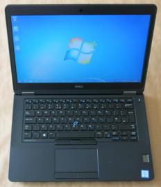 Dell e5470 i5 6200U - 14 inch  -  256 GB SSD - 8 Gb Ram - win10 -  6 mnd garantie