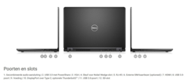 Dell Latitude 5480 - i5 6300U - 256GB SSD - 8GB - 14 INCH - FULL-HD - IPS - DELL GARANTIE tot 3 juni 2021