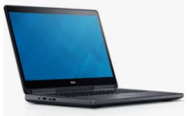 Dell precision 7710 - i7 - 17 inch full HD - 16 gb ram - 500 gb ssd - 6 mnd garantie