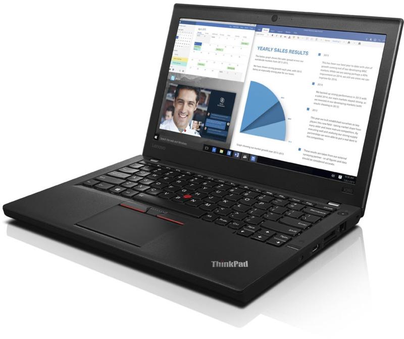 Lenovo X260 - i5 -6300u - 256 gb SSD - 8 gb - 12,5 inch - win10 - 6 mnd garantie