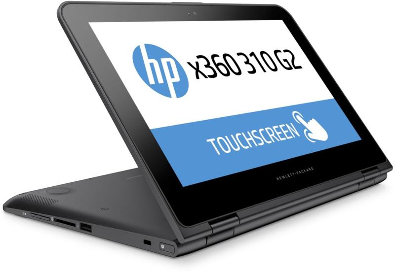 HP x360 - TOUCHSCREEN - Bang & Olufsen - 128GB SSD - 12,5 inch - windows 10