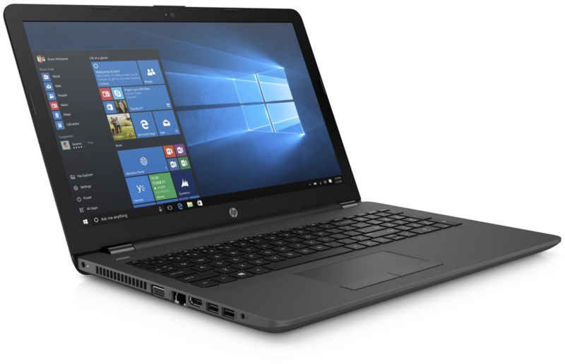 HP 250 G6 laptop - Intel Core i3 - 6006U processor met 256 Gb SSD