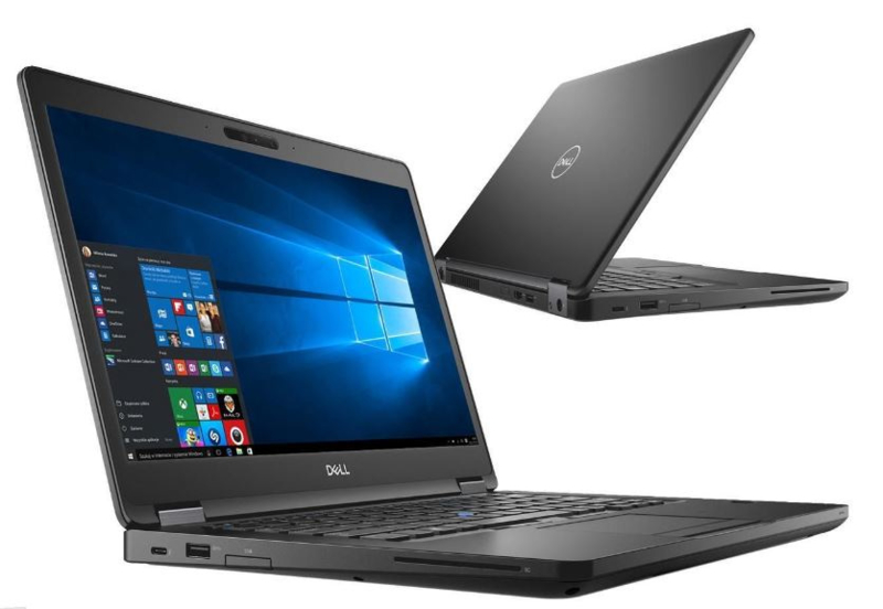 DELL latitude 5490  i5-8350U - 256 Gb SSD - 16GB ram - 14 inch Full Hd 1920x1080 scherm - Win10 - Dell Garantie t/m september 2022