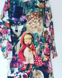Roodkapje sprookjes jurk