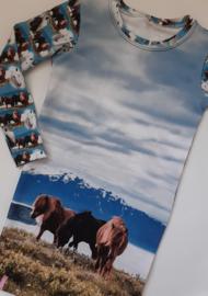 Paarden paneel jurkje
