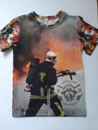 Brandweerman t shirt